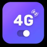 4g lte network switch logo