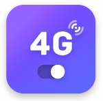 4g lte network switch logo